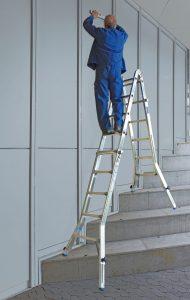 échelle transformable en escalier